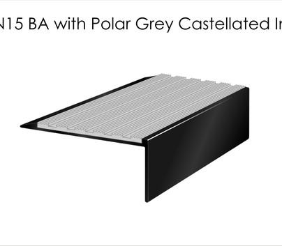 AN15 BA with Polar Grey Castellated
