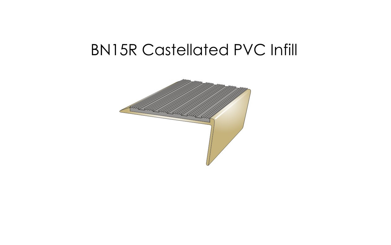 BN15R Castellated PVC Infill