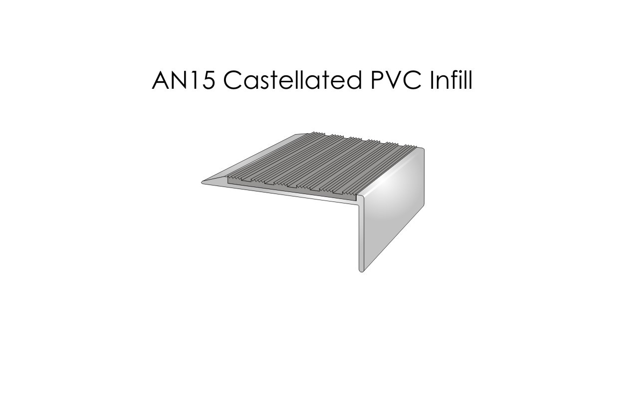 AN15 Castellated PVC Infill