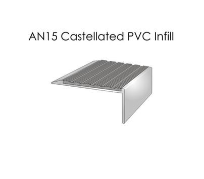 AN15 Castellated PVC Infill