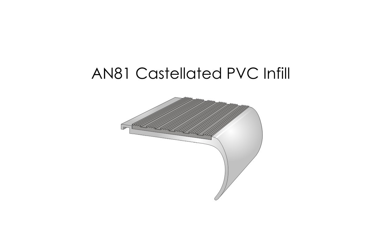 AN81 Castellated PVC Infill