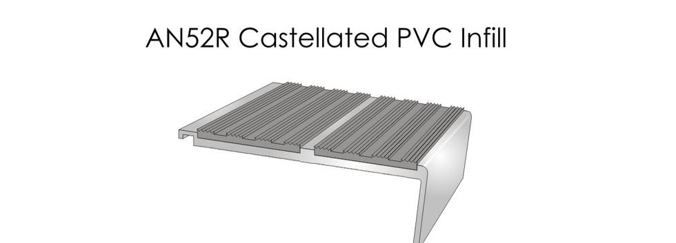 AN52R Castellated PVC Infill