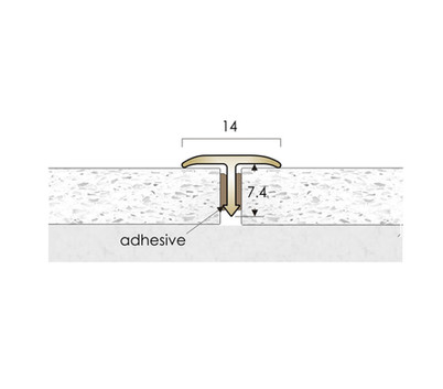 CAT Brass Flooring Profiles T14
