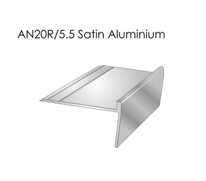 AN20R 5.5 Satin Aluminium