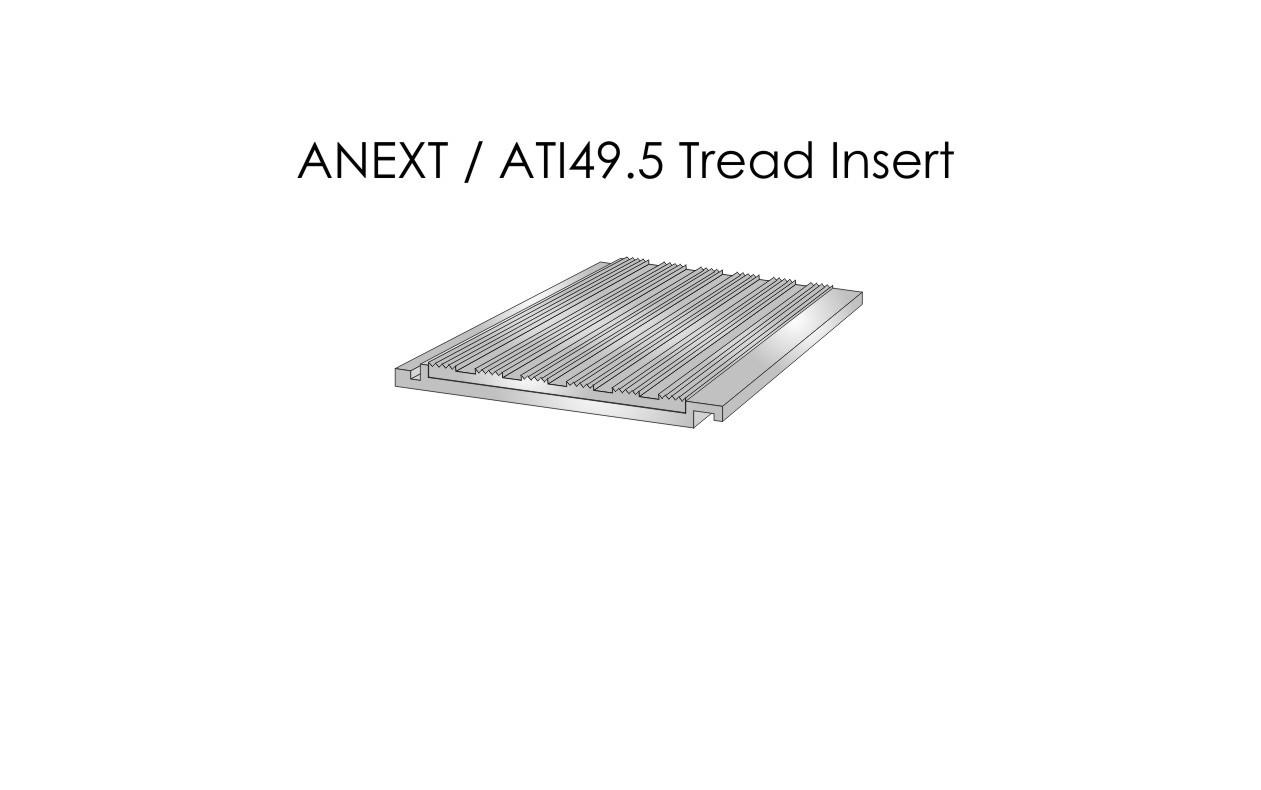 ANEXT ATI49.5 Tread Insert