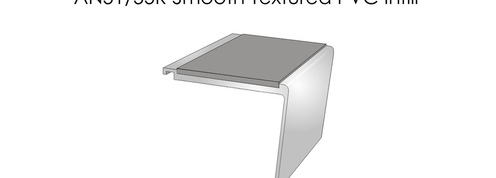 AN51-55R Smooth Textured PVC Infill