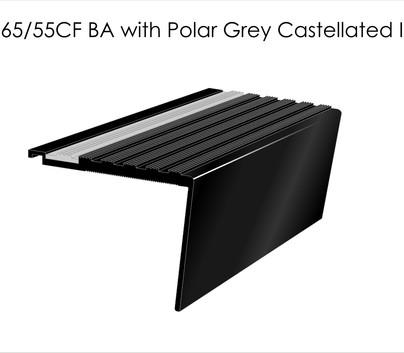 AN65 55RCF BA with Polar Grey Castellated
