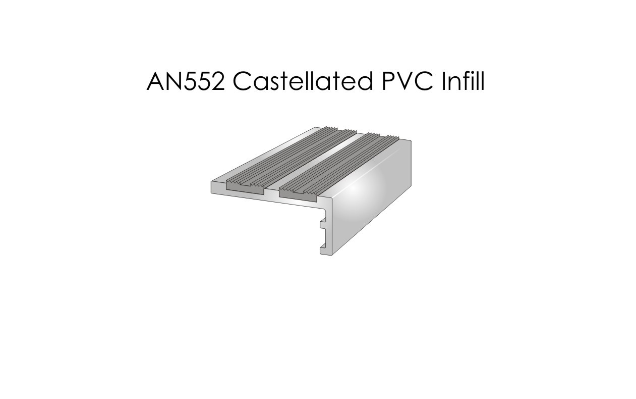 AN552 Castellated PVC Infill