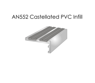 AN552 Castellated PVC Infill