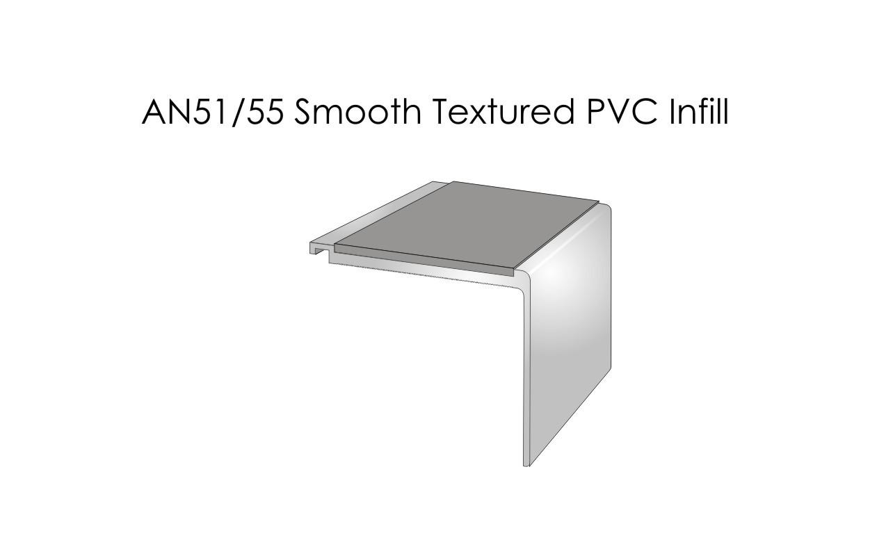 AN51-55 Smooth Textured PVC Infill