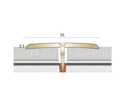 CAT Brass Flooring Profiles BC55 Drilled