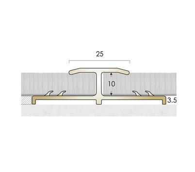 CAT Brass Flooring Profiles Feline 4