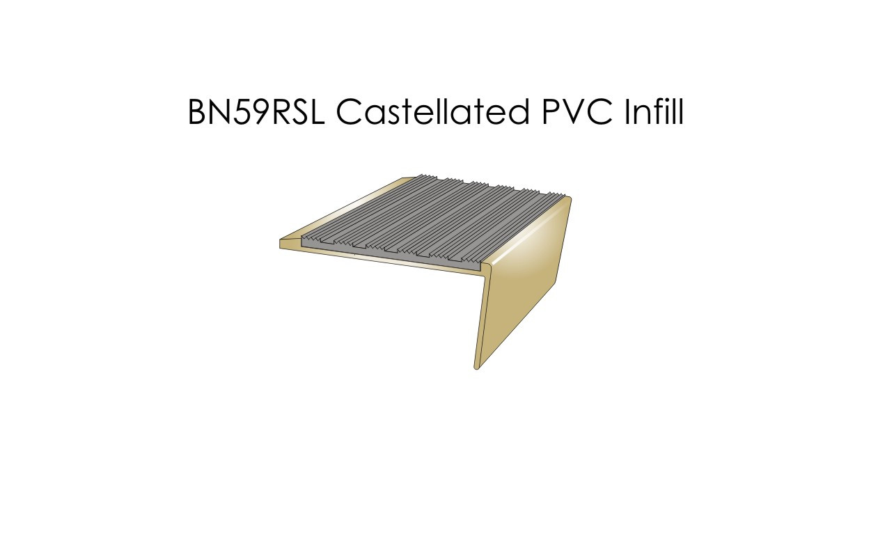 BN59RSL Castellated PVC Infill