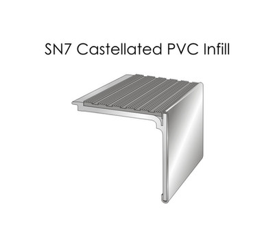 SN7 Castellated PVC Infill