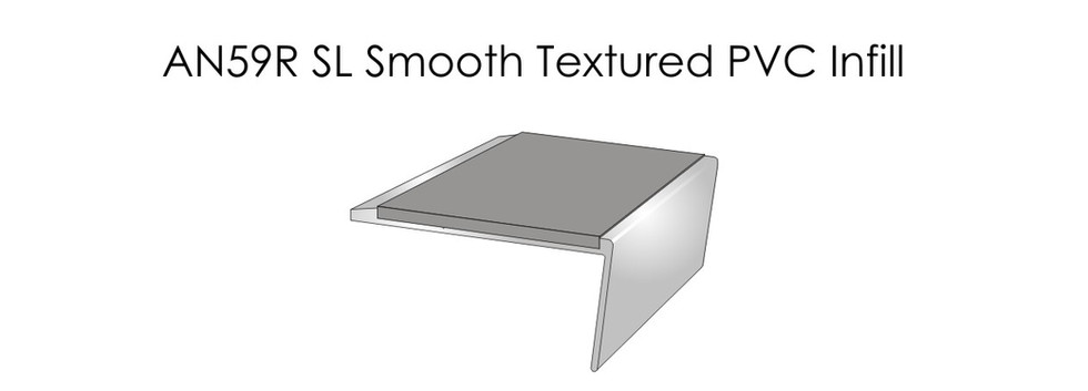 AN59RSL Smooth Textured PVC Infill