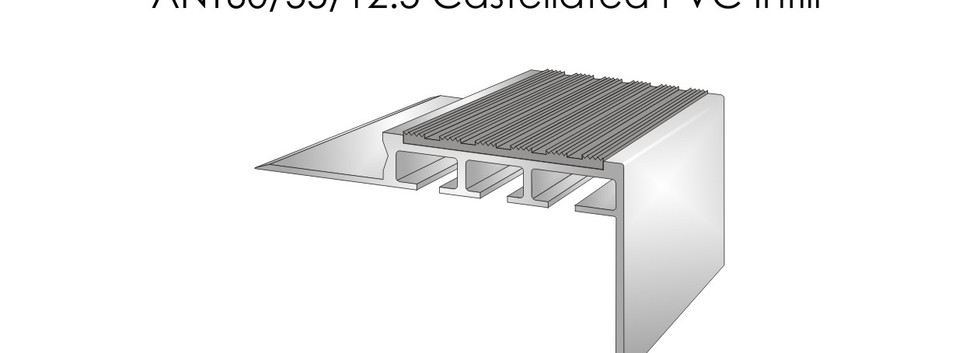 ANT60-55-12.5 Castellated PVC Infill