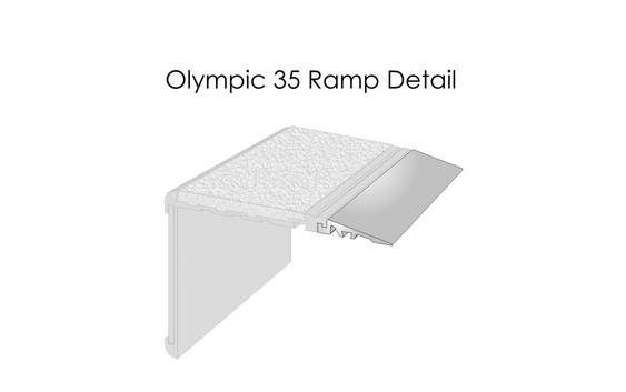 CAT Olympic 35 Ramp Detail