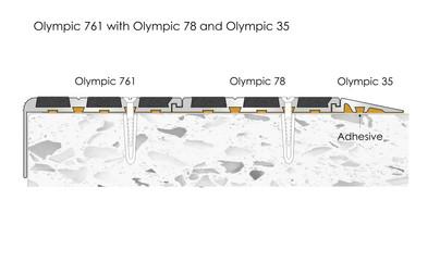 CAT Olympic 761 Combination Olympic 35