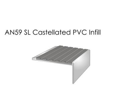 AN59SL Castellated PVC Infill