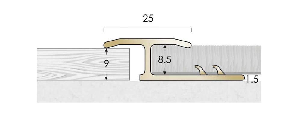 CAT Brass Flooring Profiles Feline 1