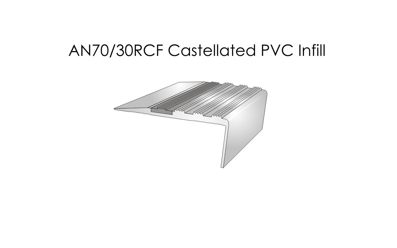 AN70-30RCF Castellated PVC Infill