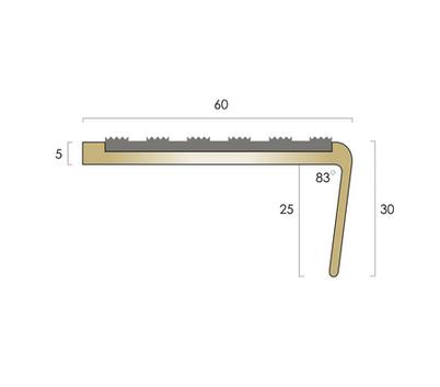 CAT Brass Nosing BN6 - Castellated