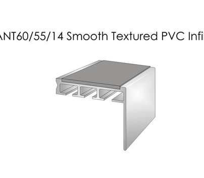 ANT60-55-14 Smooth Textured PVC Infill