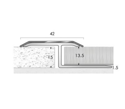 FAB Wide Twin Top Single Leg Stainless Steel Top
