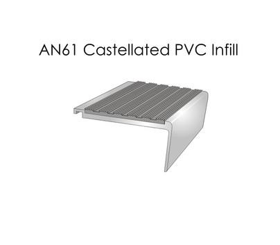 AN61 Castellated PVC Infill