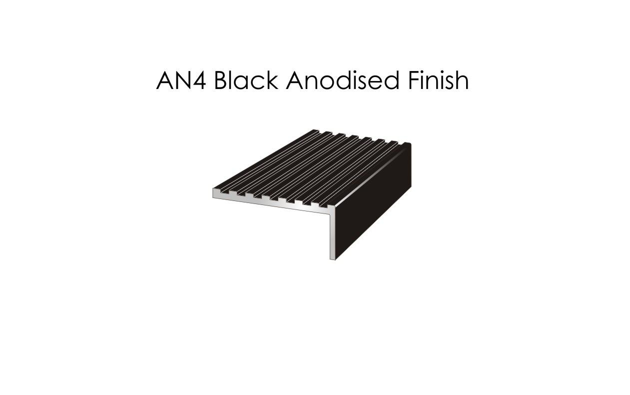 AN4 Black Anodised