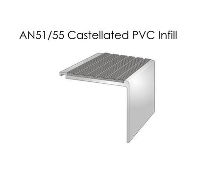 AN51-55 Castellated PVC Infill