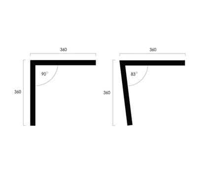 PVC Stringers Angles