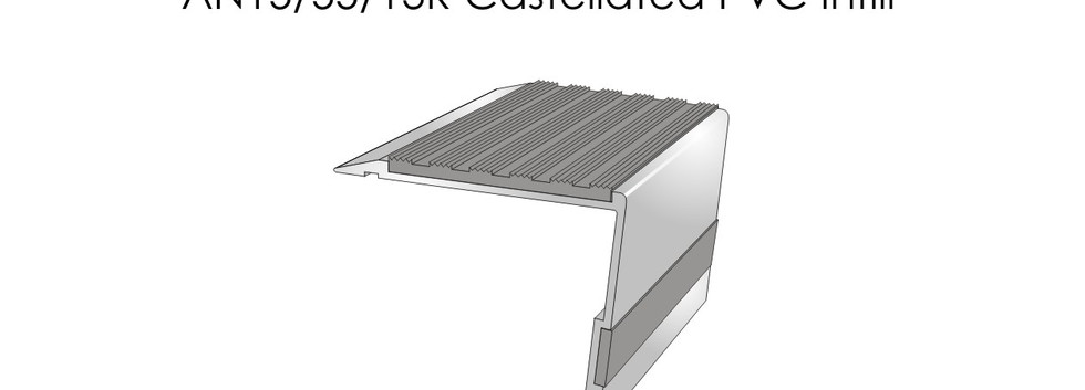 AN15-55-13R Castellated PVC Infill