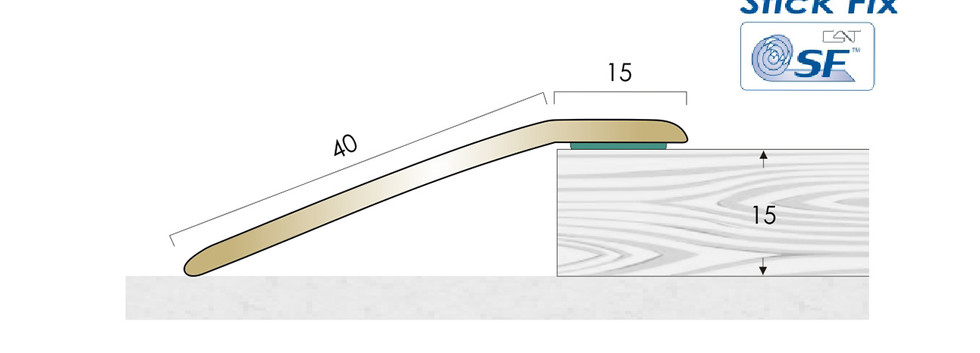CAT Brass Flooring Profiles BR15 SF