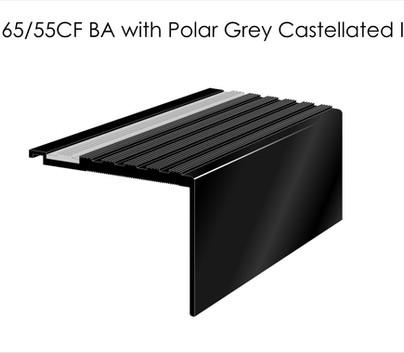 AN65 55CF BA with Polar Grey Castellated