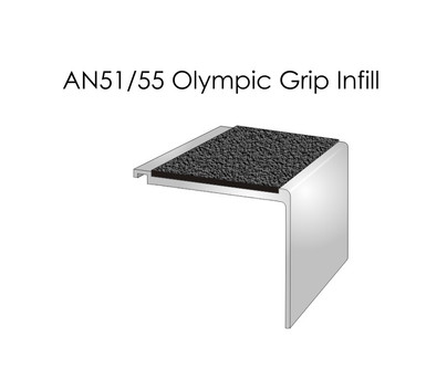 AN51-55 Olympic Grip Infill