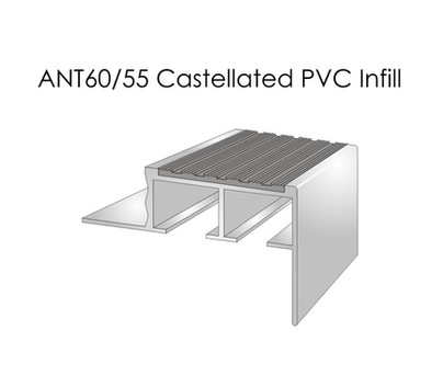 ANT60-55 Castellated PVC Infill