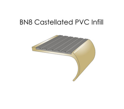 BN8 Castellated PVC Infill