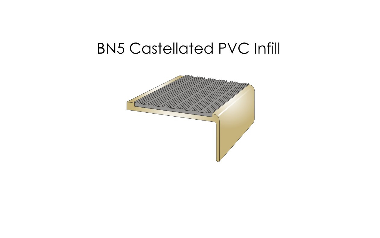 BN5 Castellated PVC Infill