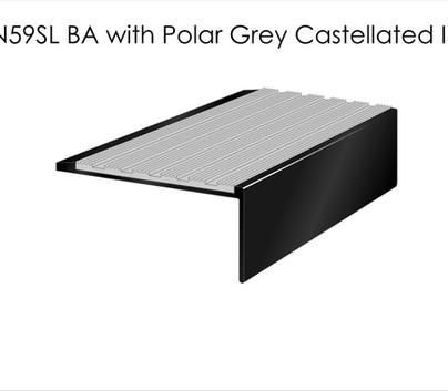 AN59SL BA with Polar Grey Castellated