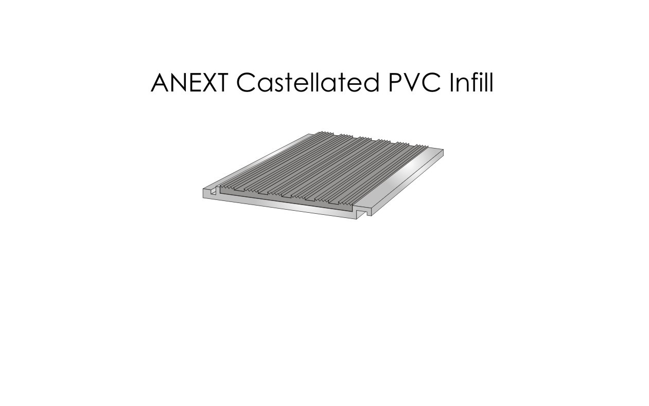 ANEXT Castellated PVC Infill