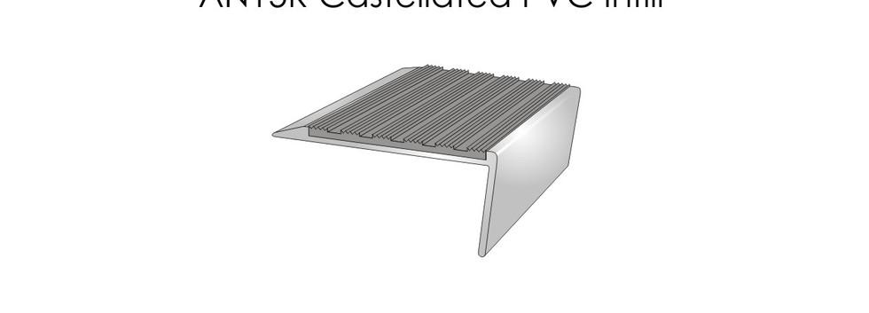 AN15R Castellated PVC Infill