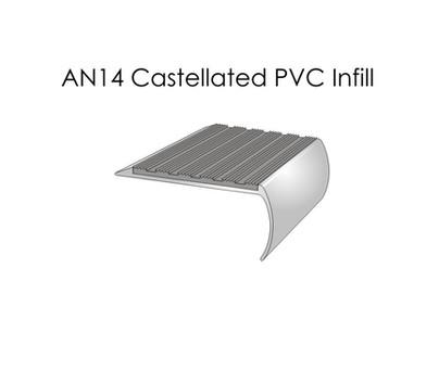 AN14 Castellated PVC Infill