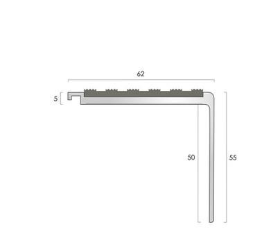 CAT Aluminium Nosing AN51-55