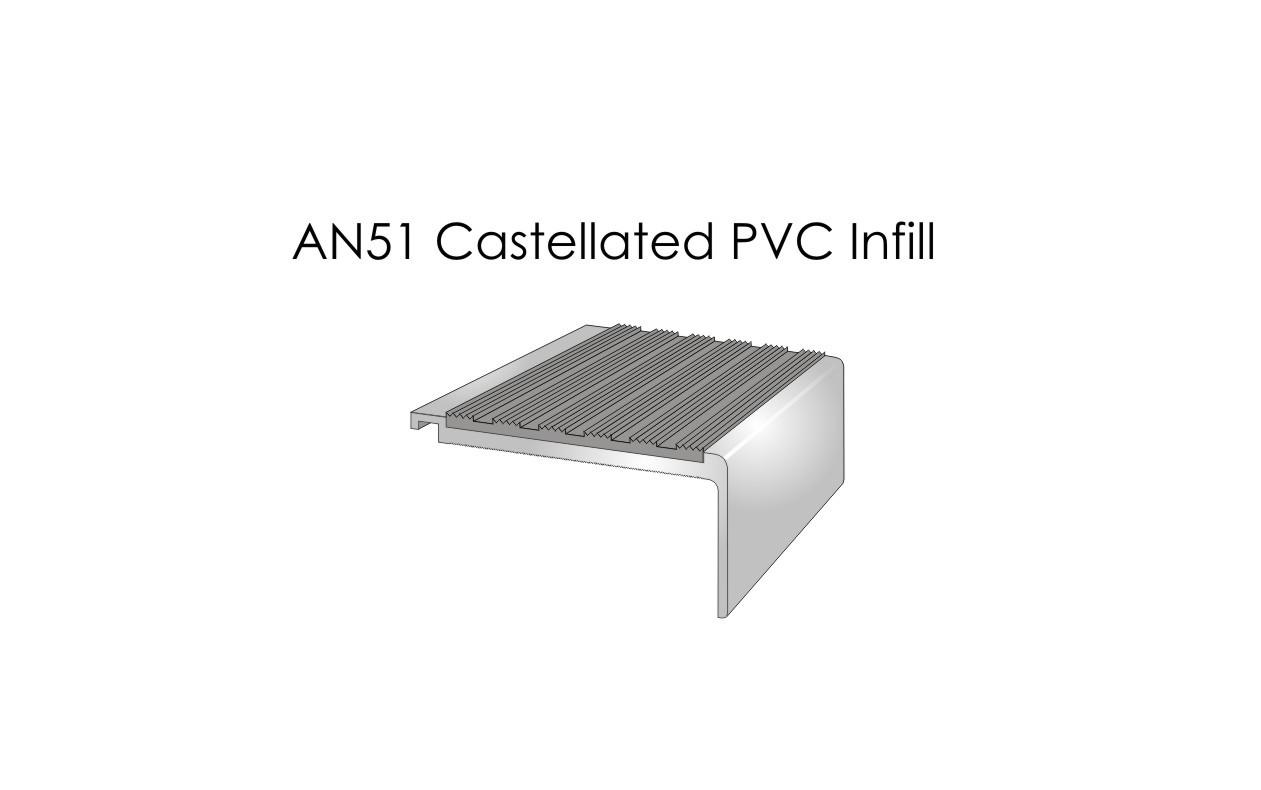 AN51 Castellated PVC Infill