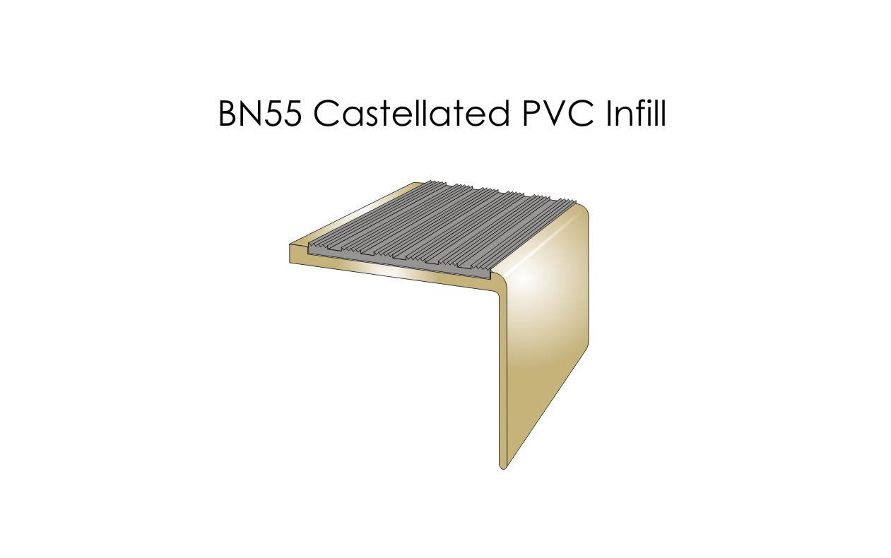 BN55 Castellated PVC Infill