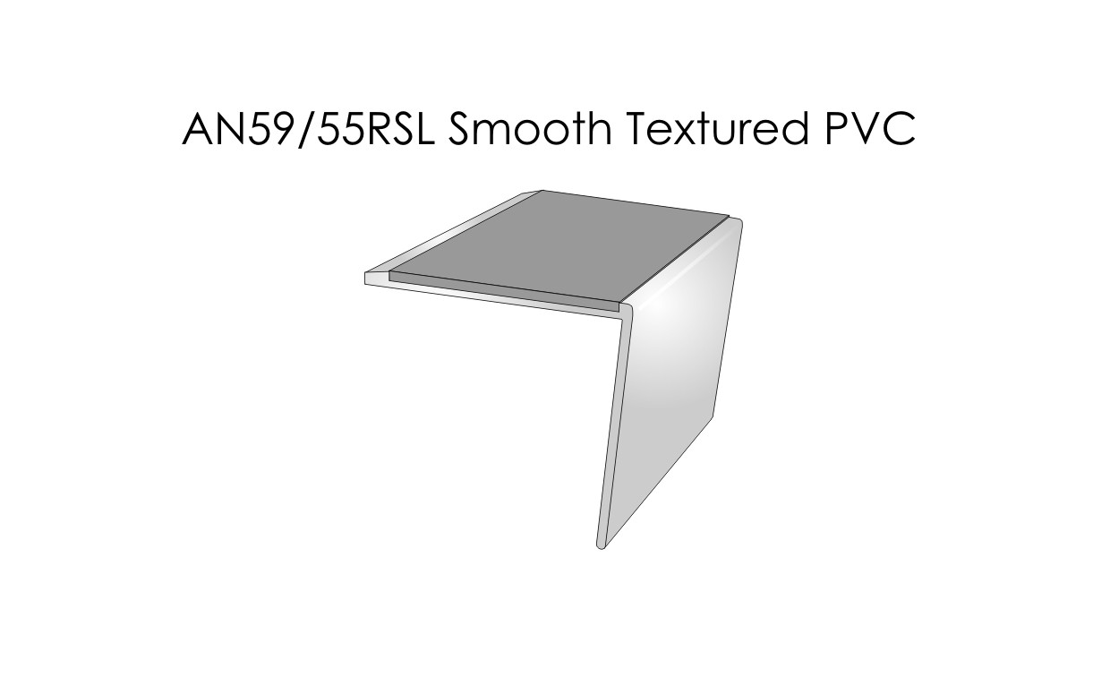 AN59-55RSL Smooth Textured PVC