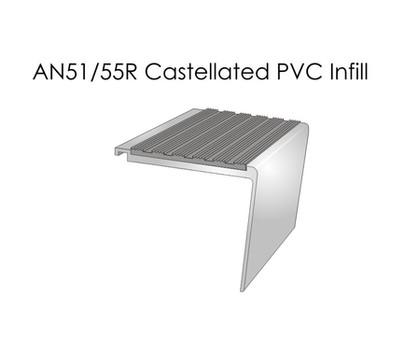 AN51-55R Castellated PVC Infill