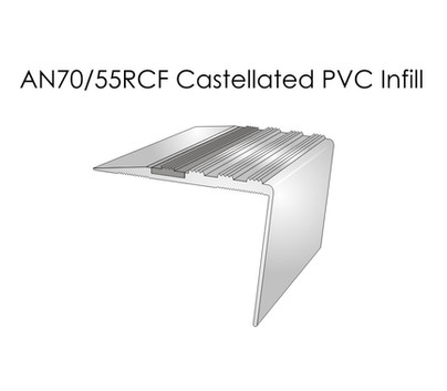 AN70-55RCF Castellated PVC Infill