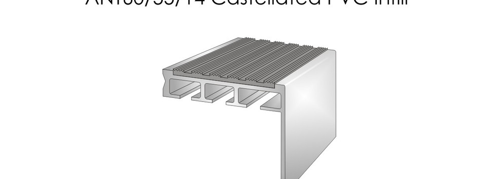 ANT60-55-14 Castellated PVC Infill